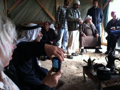 Bedouin community members