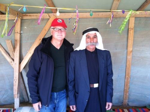 Bedouin community member