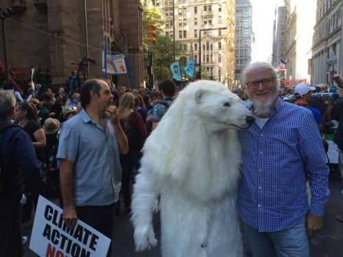 Climate change walk in NYC